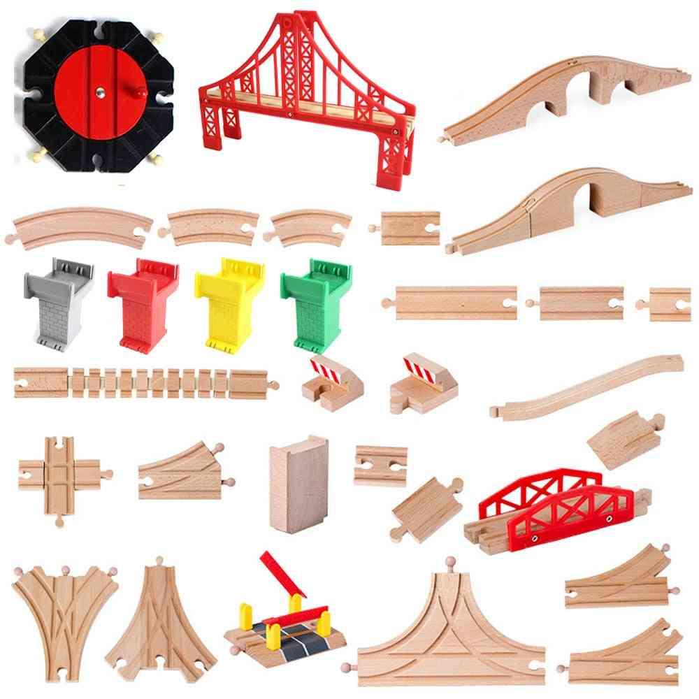 Wood Track Train Railway Parts, Compatible With Thomas Biro