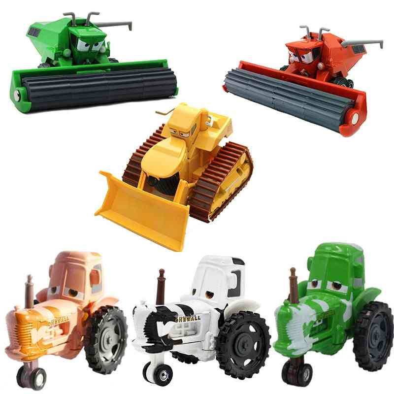 1:55 Disney Pixar Cars, 3 2 Frank And Tractor Lightning
