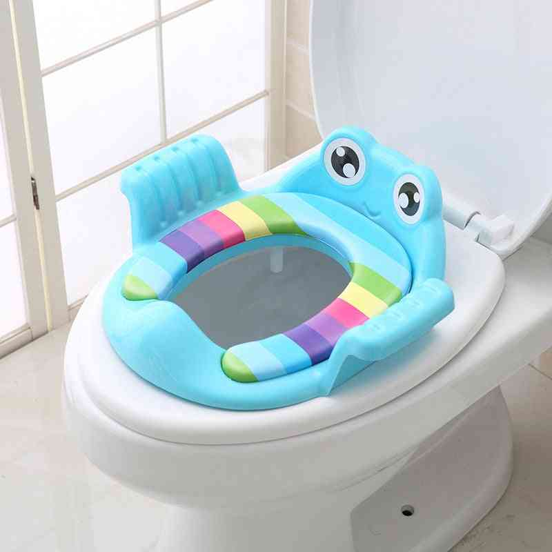Infant Non-slip Potty Toilet Seat Chair With Handle
