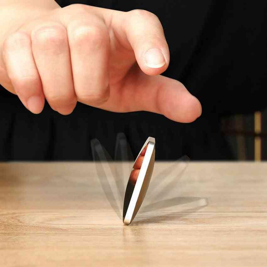 Flipo Flip Pocket Desk - Decompression Artifact Finger Flipperr Stick