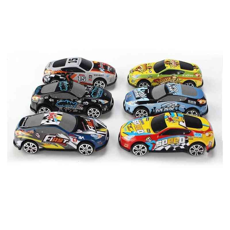 Racing Car Alloy Iron Shell Taxi Model For