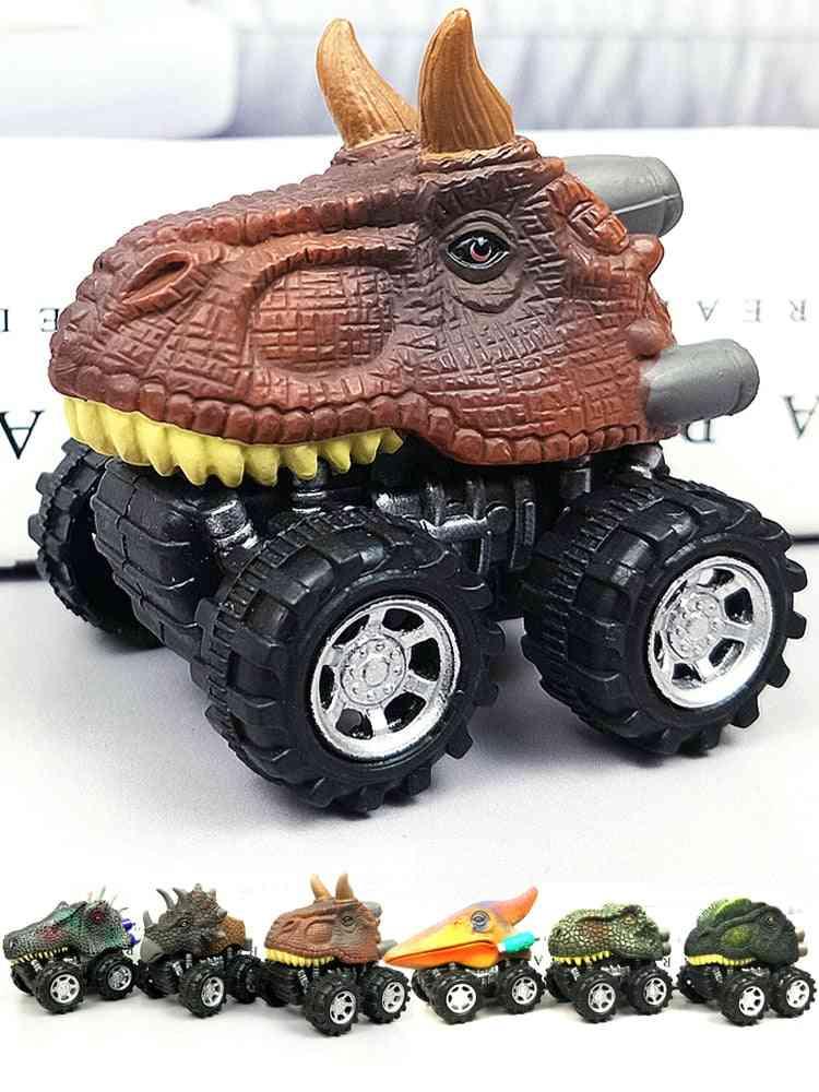 Children's Dinosaur Model Mini Toy Car Back