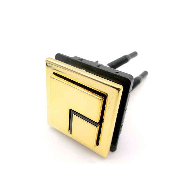 Square Shape Toilet Puch Button For Flush Tank