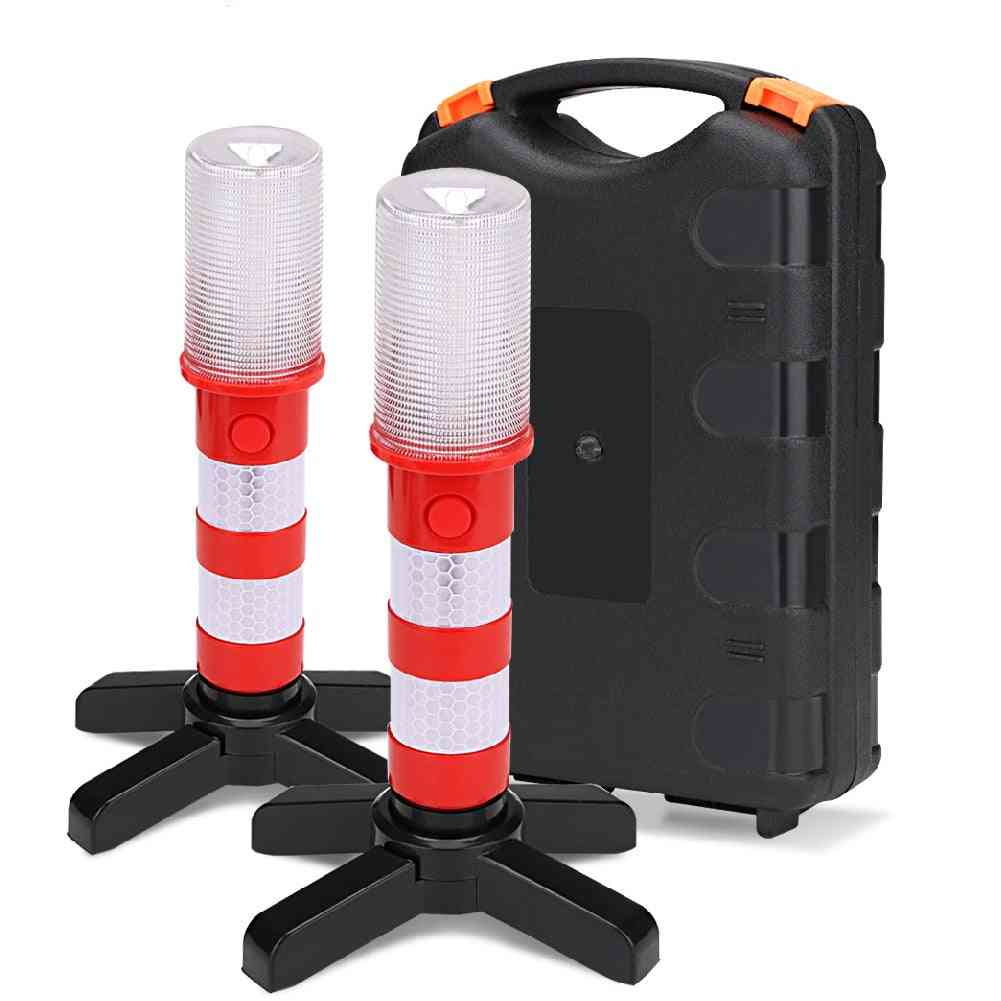 Led Magnetic Flashlight Roadside Emergency Stand