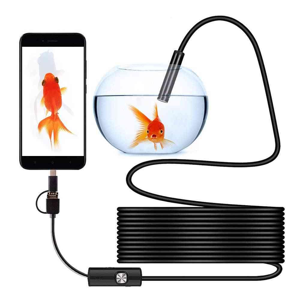 Waterproof Mini Camera -usb Endoscope Portable Universal Inspection Borescope