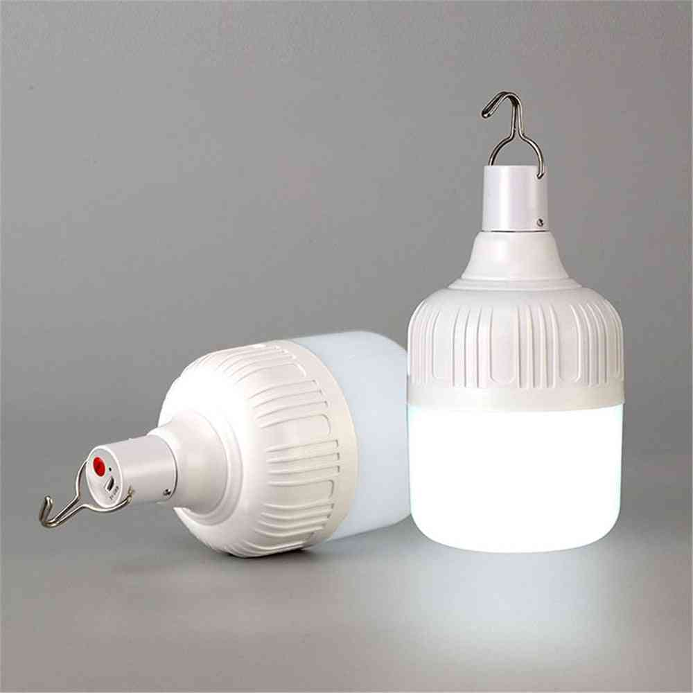Led Camping Light, Usb Rechargeable Bulb