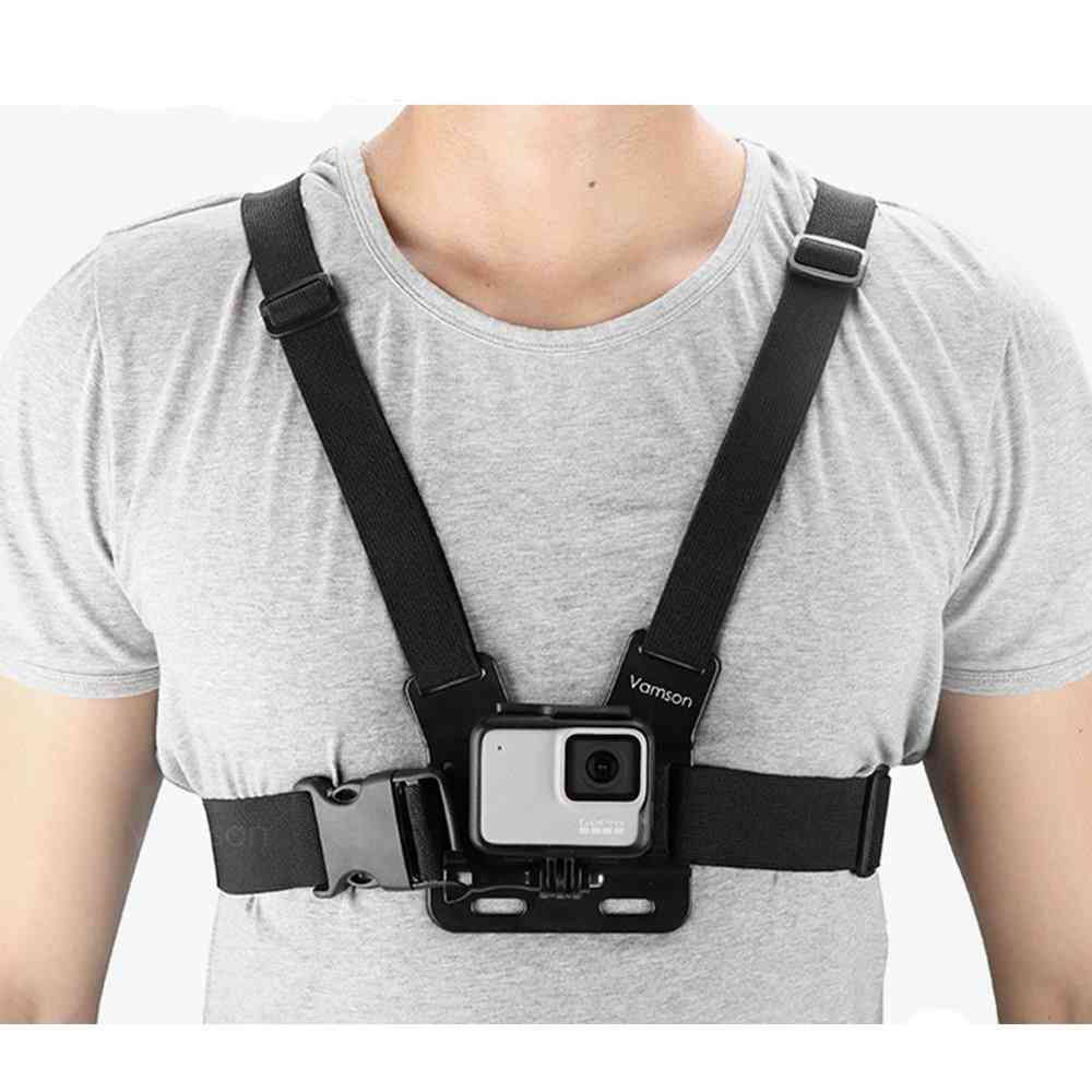 Chest Strap Belt- Body Tripod, Harness Mount For Gopro Hero Action Camera