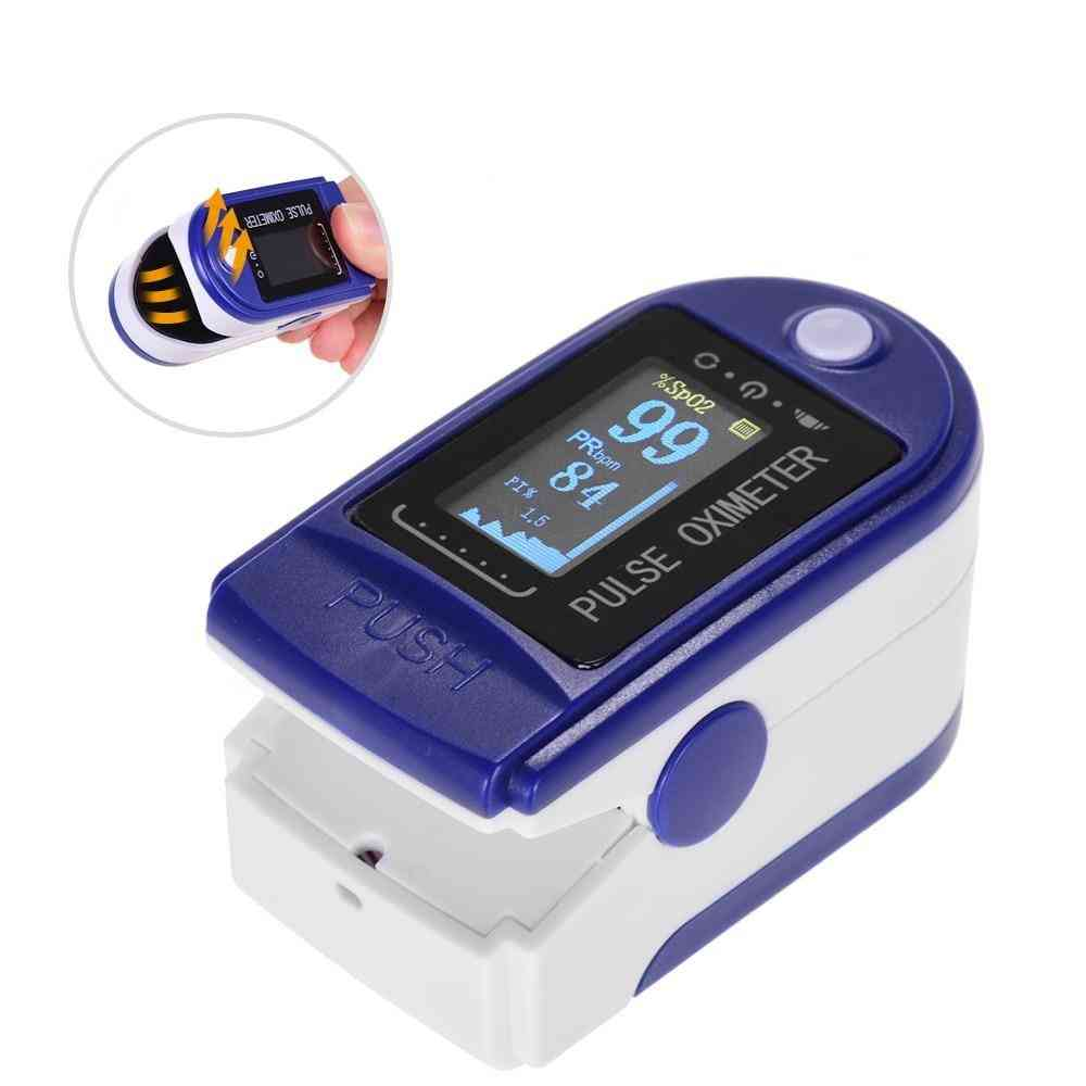 Finger Clip Oximeter Pulse Monitor -oxygen Saturation Heart Rate