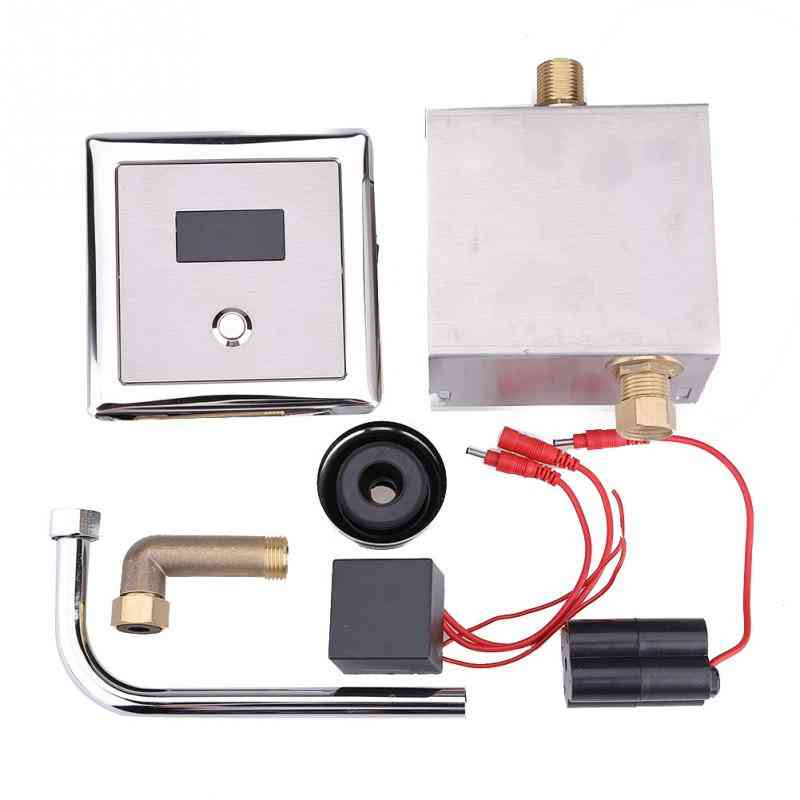 Automatic Sensor Toilet Urinal Flush Valves - Wall Mounted Lavatory Bath Faucet Taps
