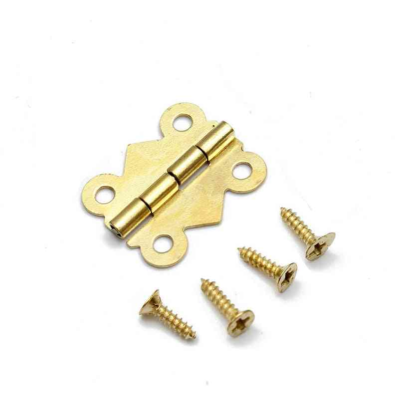 Mini Butterfly Door Hinges- Cabinet Drawer
