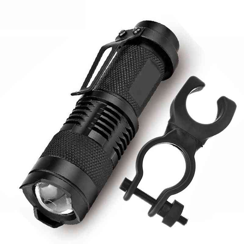 Bicycle Clip Front Light Bike Lamp Torch