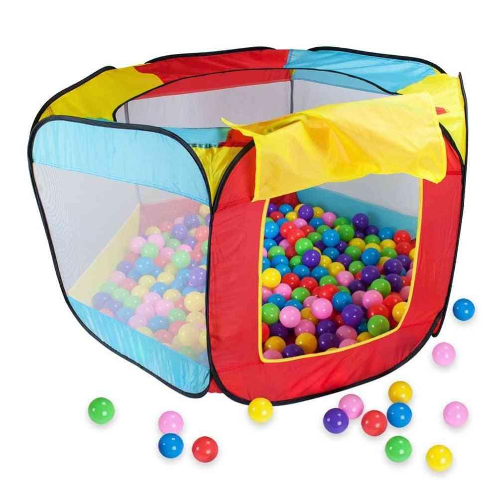 Portable Play Kids Tent -ocean Ball Pool