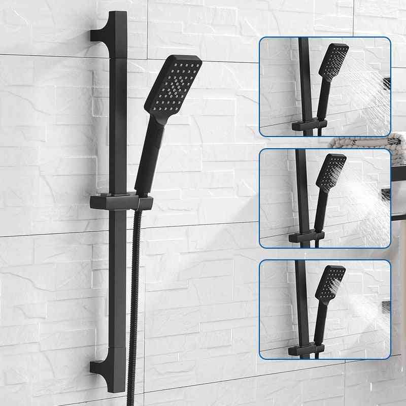High-quality Black Shower Sliding Bar, Wall Mounted