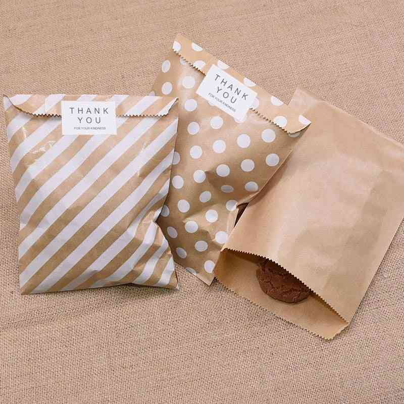 Kraft Paper Bags For Wedding, Party And Favors