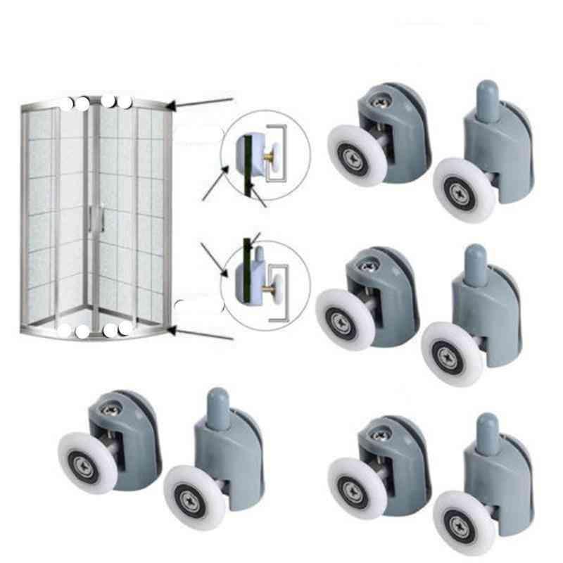 Sliding Shower Door Castor - Enclosures Upper & Lower Rollers