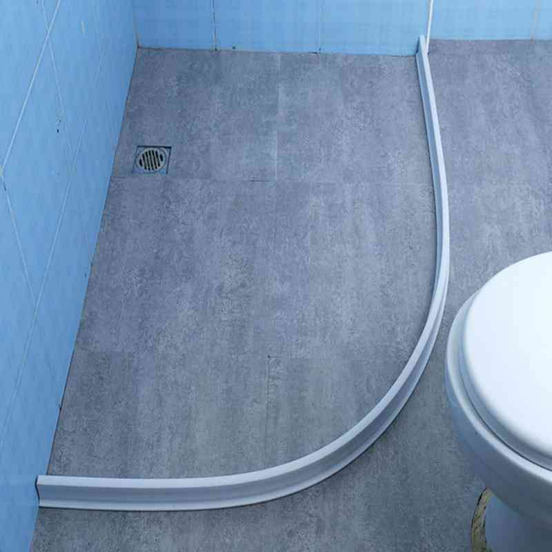Silicone Separation Waterproof  Water Stopper Barrier Strip For Bathroom