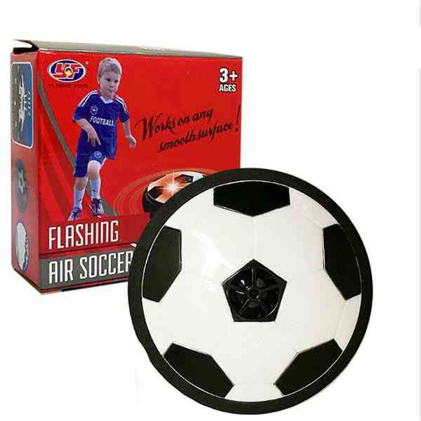 Air Powered, Flashing Soccer Ball, Indoor Football Toy With Colorful Music And  Light