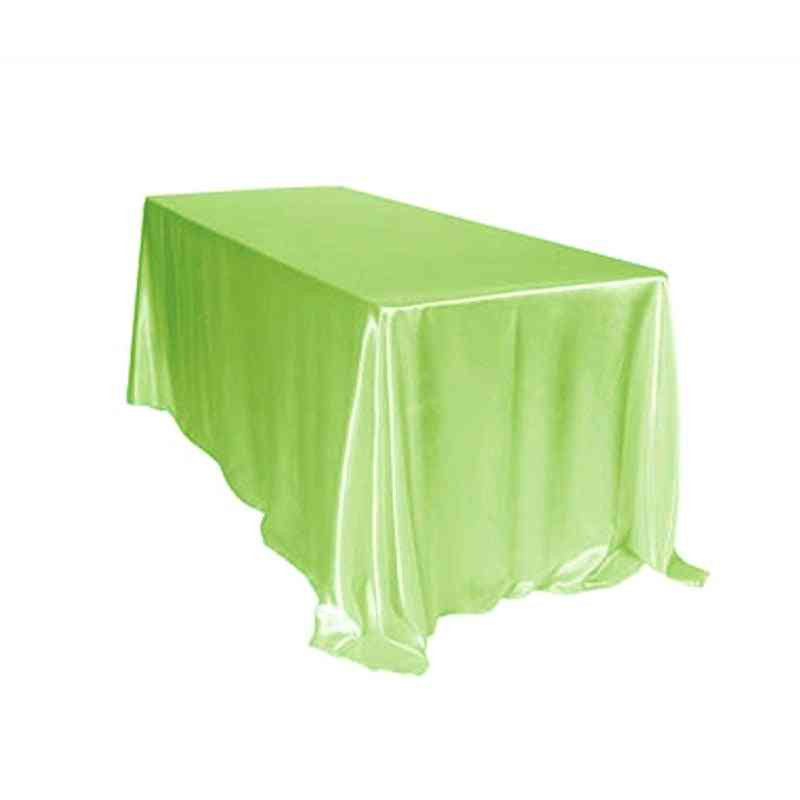 Hotel Banquet Rectangular Table Cloth For Wedding, Party, Christmas Decoration