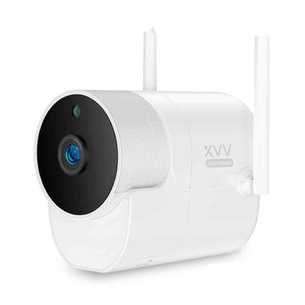 Smart Outdoor Camera - Waterproof With 150° Wide Angle And 1080p Wifi Night Vision For Surveillance