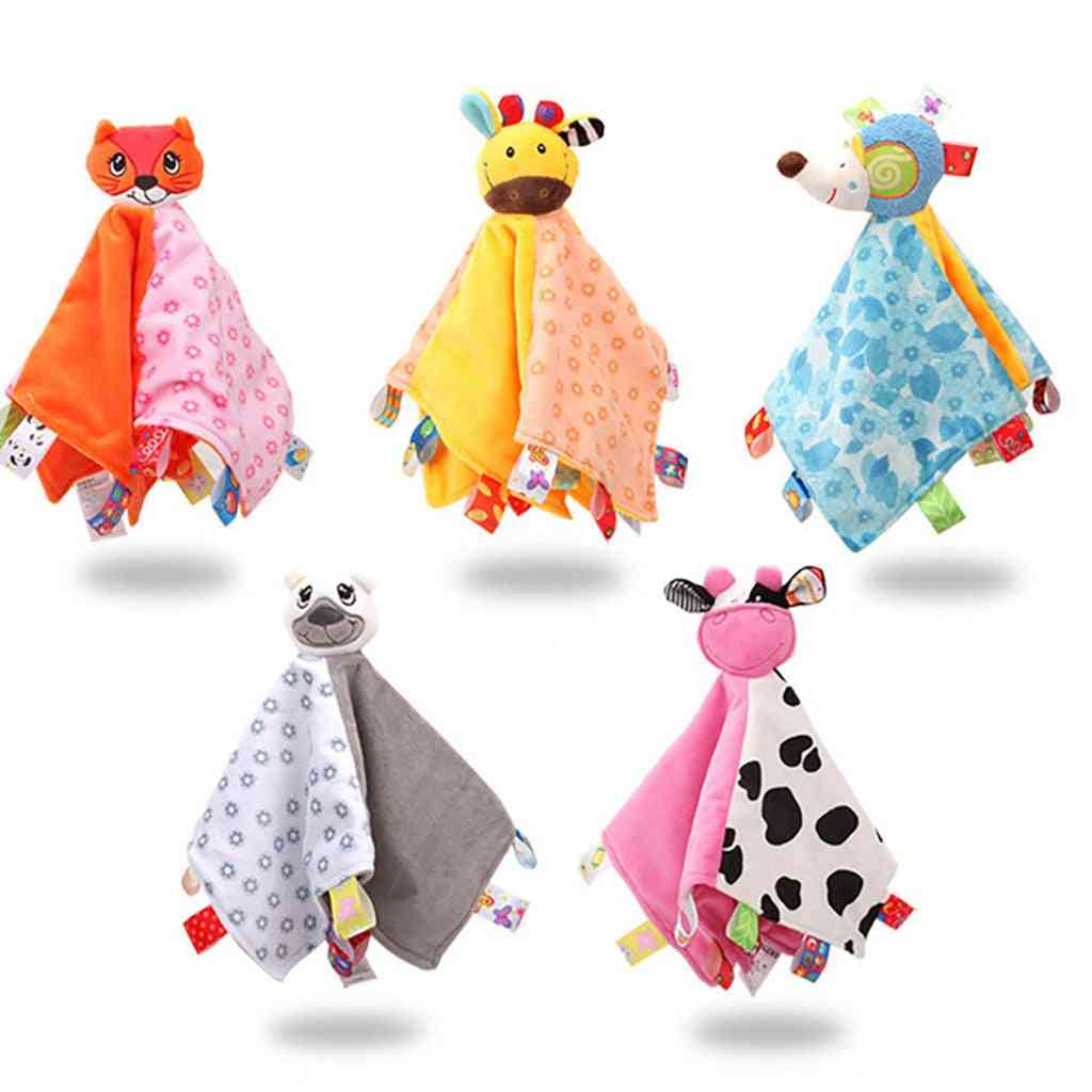 Soft Animal Puppet - Comforter, Blanket, Stress Relief Toy
