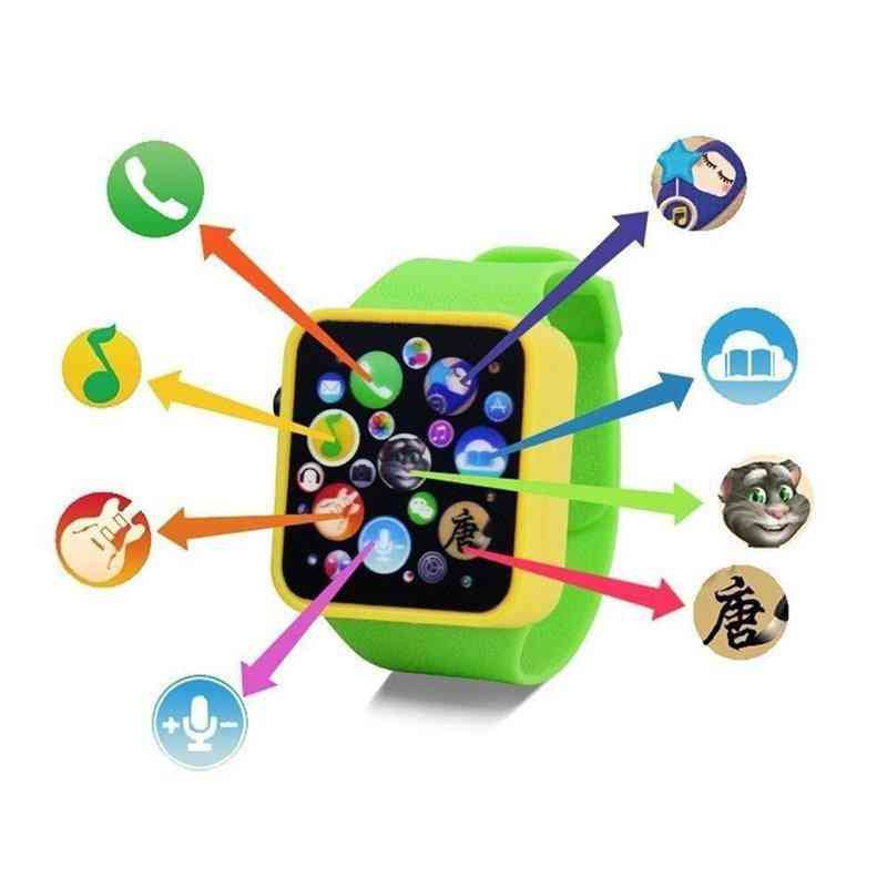 Early Education Toy Wrist Watch - 3d Touch Screen Music Smart Teaching