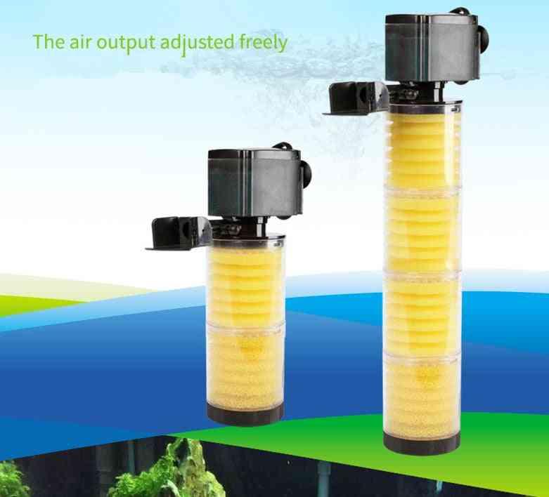 3 In 1 Aquarium Multifunction Filter Pump, Filter