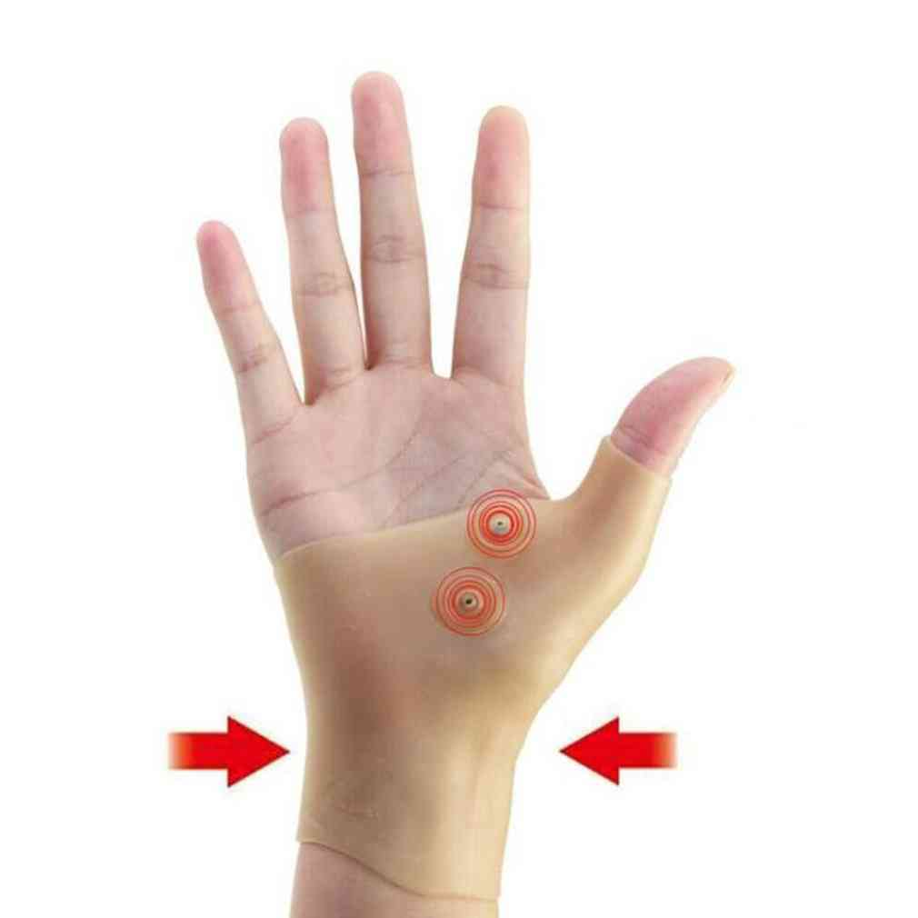 Magnetic Therapy Wrist Hand- Thumb Support Silicone Gel