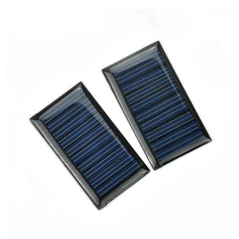 Epoxy Polycrystalline Silicon Mini Solar Panels Cells - Photovoltaic Panel Power Charger