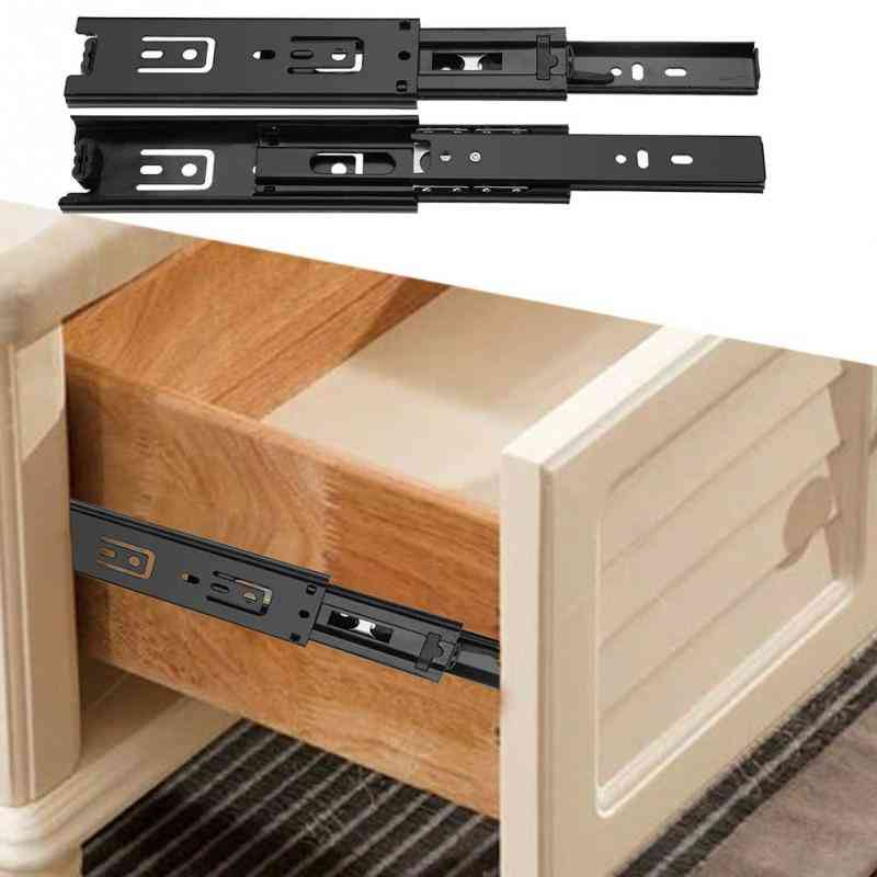 Damping Drawer Slides With Full Extension Guide Rail