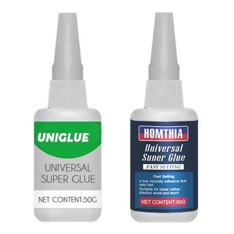 Universal Super Glue- Waterproof Tough Adhesive For Pvc, Rubber, Metal And Plastics