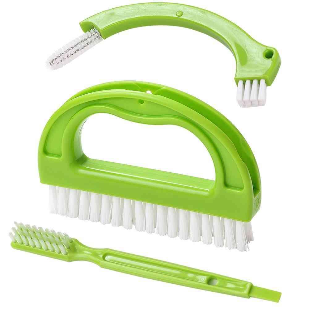 Tile Grout Cleaner Brush - Bathroom Dirt Scrubbing Tool