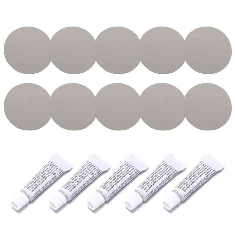 Repair Kit Including Adhesive And Patches For Inflatable, Pvc, Pu Leather And Other Material