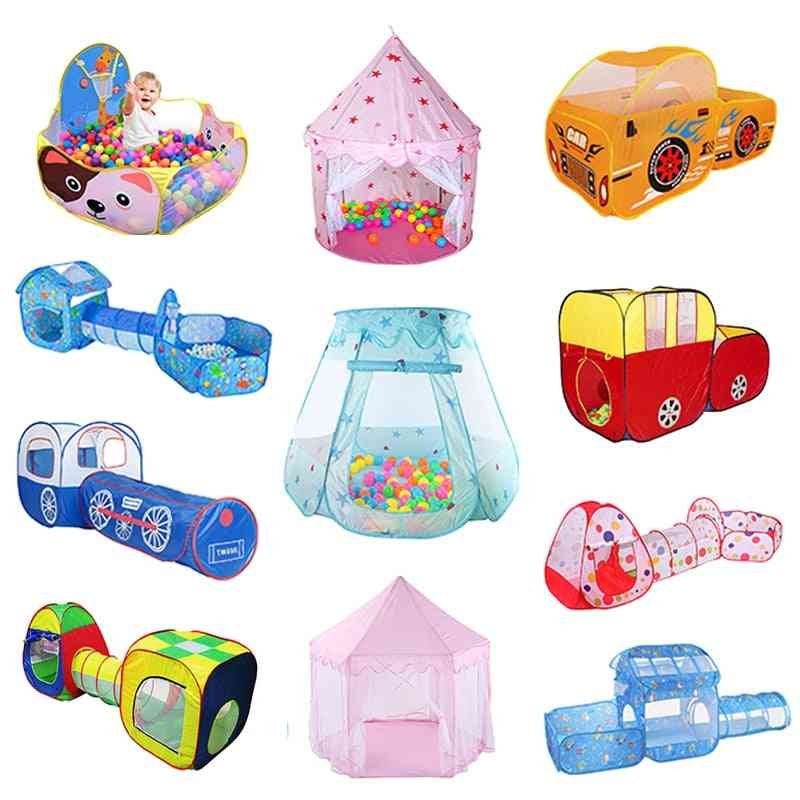 Portable's Tent - Kids Indoor And Outdoor Play Set