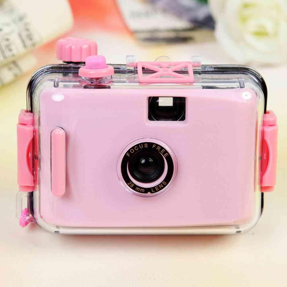 Children's Camera Camara Non-disposable Film Lomo Waterproof And Shockproof