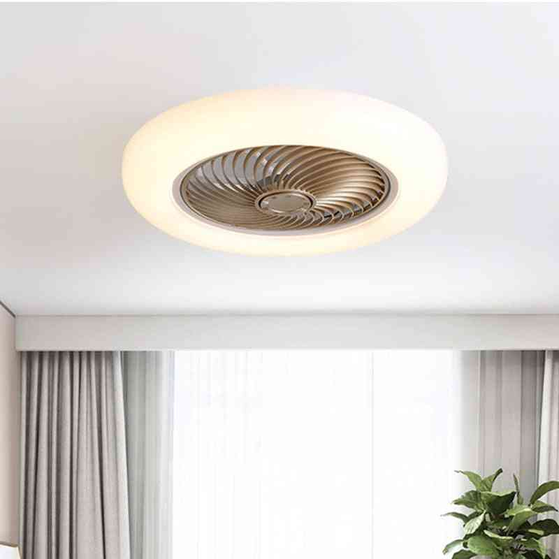 Ceiling Fan With Led, And  Remote Control