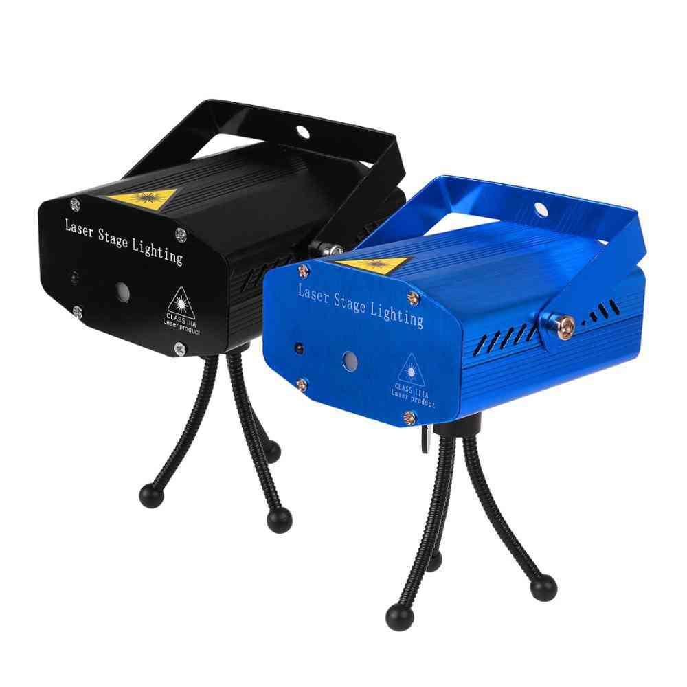 Led Laser Projector, Disco Light- Mini Auto Flash Lamp Remote