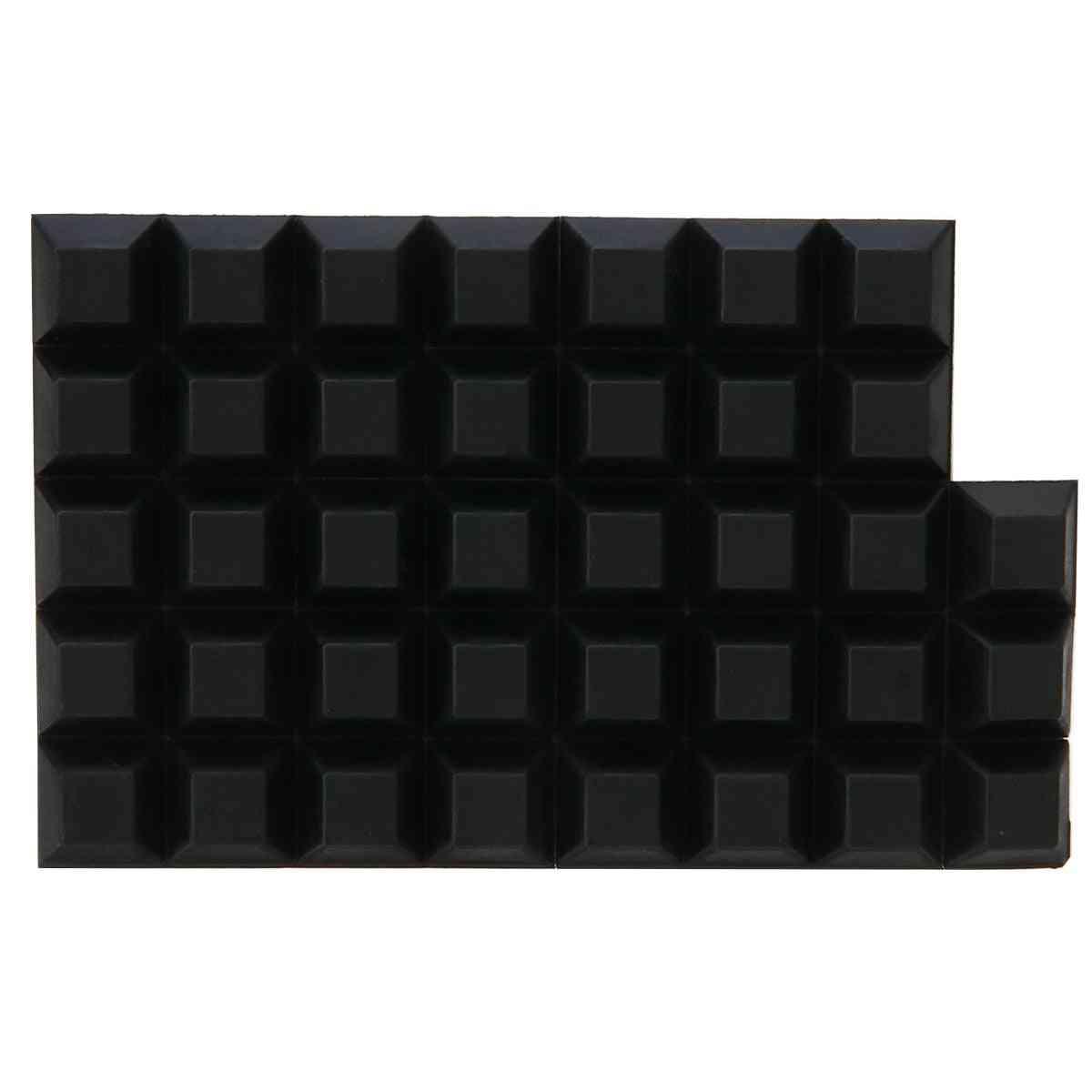 Self Adhesive Rubber Bumper, Stop Non-slip Feet Door Buffer Pads