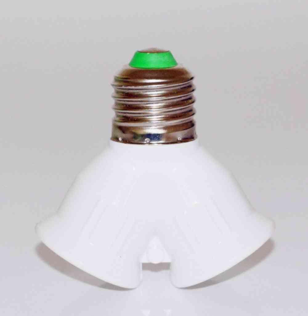 Led Halogen Y Shape Lamp, Holder, Converter, Splitter, Light Bulb Adapter