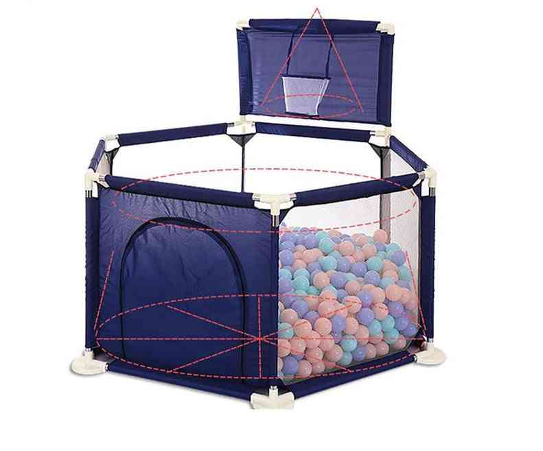 Baby Dry Pool With Balls Pits And Basket -tent