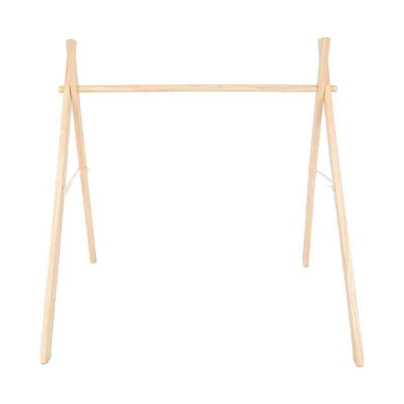 Wooden Rack To Encourage Babies To Stand And Walk