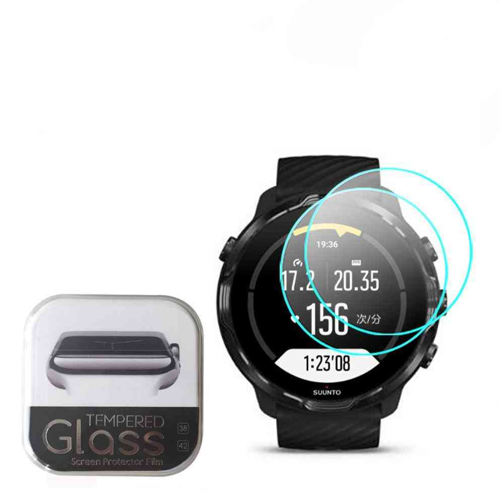 Clear Tempered Glass For Smart Watch Screen Protector