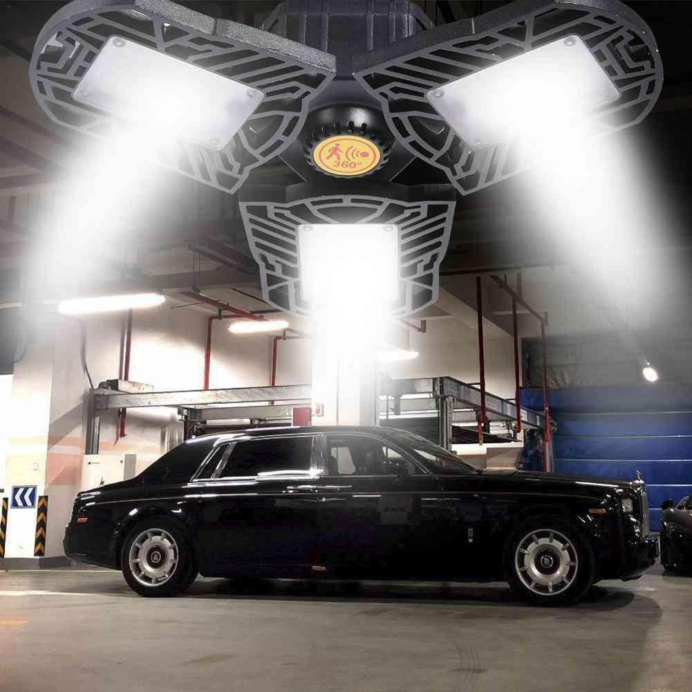 Radar Induction Led Garage Light, 60w Industrial Household Lamp