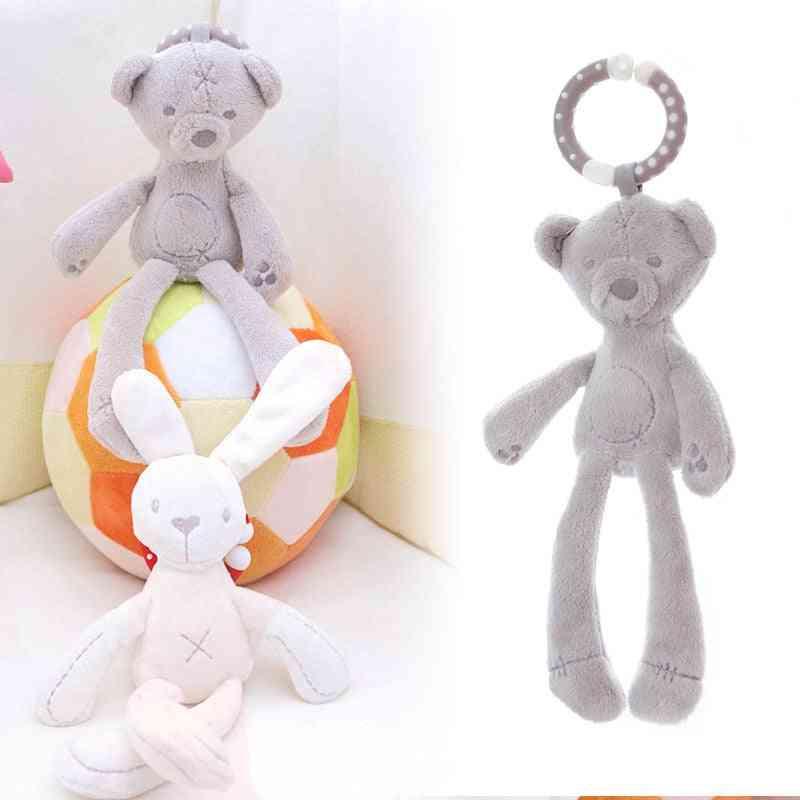 Cute Baby Crib Stroller Toy, In Rabbit Bunny And Bear Shapebear