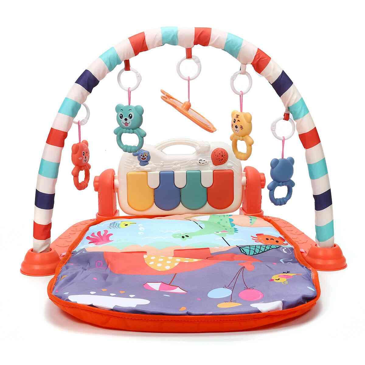 Children's Play Mat - Soft Rattles Musical For Babies Games