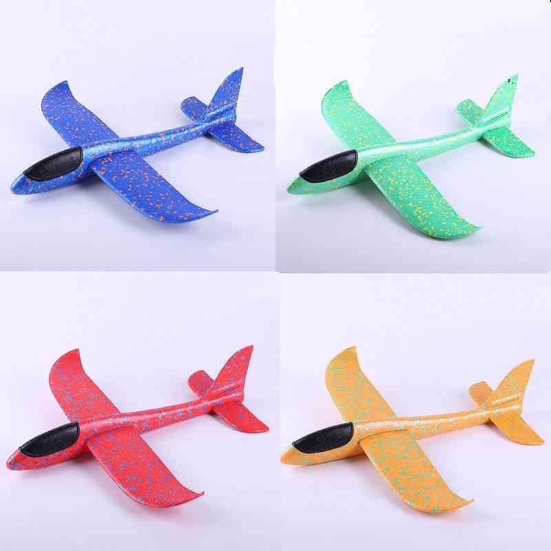 36~48cm Aircraft Flying Glider Toy For Outdoor Game -  Hand Throw Flying Glider Planes Foam Flying Model Airplanes