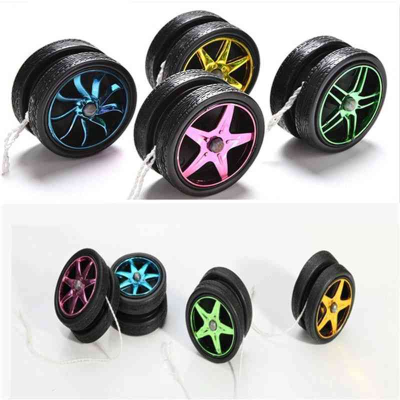 Yoyo Ball Toy, Plastic Wheels For Kids Entertainment