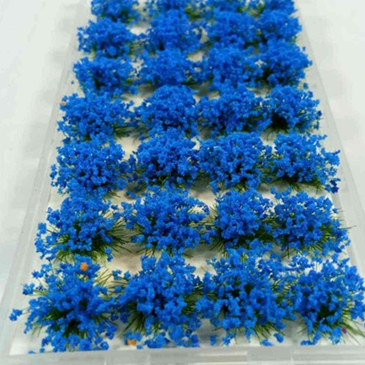 Artificial Grass Flower - Petal Garden Lawn Micro Landscape Decor Accessories Sandbox Game