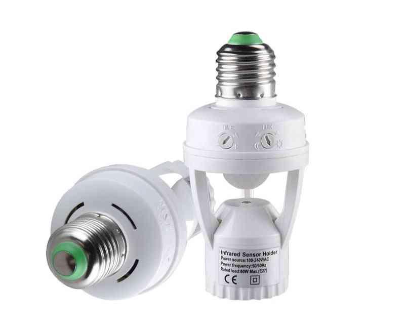 Pir Motion Sensor Socket - E27 Converter Auto Smart Induction Switch