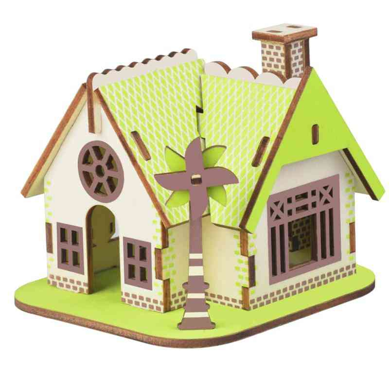 3d Wooden Puzzle Model Kits - Assembly Craft Toy For