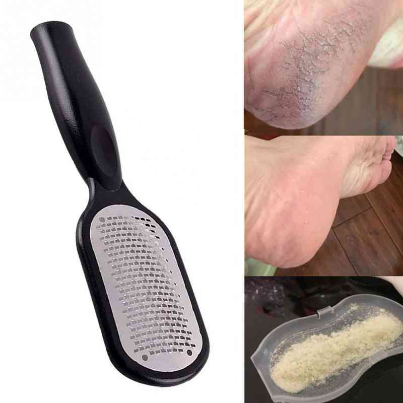 Portable, Multifunctional And Stainless Steel, Wear-resisting Callus Remover For Foot